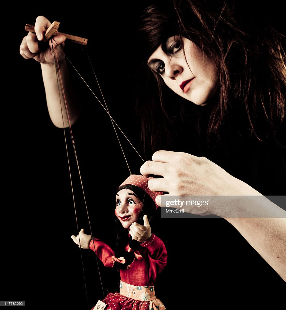 The Puppeteer : Stock Photo
