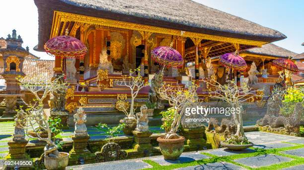 The Pura Taman Saraswati . Bali , Indonesia