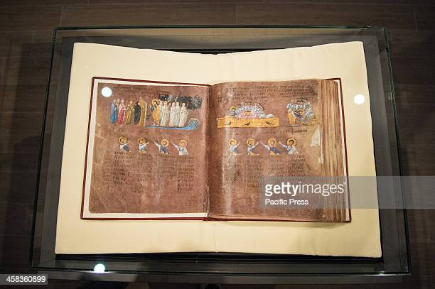 The Purpureus Codex under its glass case Codex Purpureus returned after restoration of Rossano lasted 4 years In October 2015 it was recognized as a...