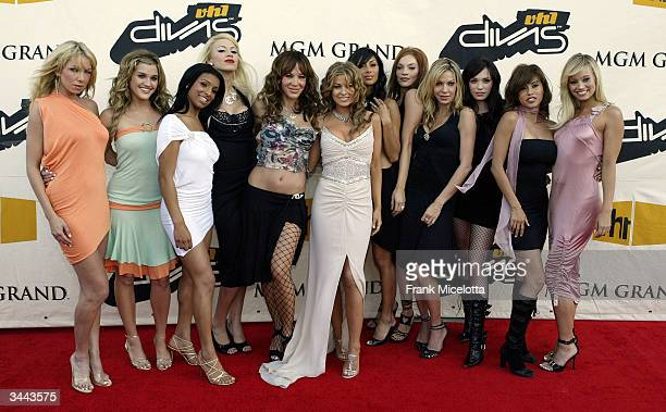 The Pussy Cat Dolls attend the 7th Annual VH1 Divas Concert Benefiting The Save The Music Foundation at the MGM Grand Garden Arena April 18 2004 in...