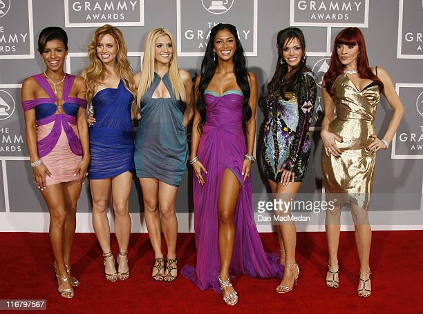 The Pussycat Dolls during 49th Annual GRAMMY Awards Photography by Dan MacMedan at Staples Center in Los Angeles California United States
