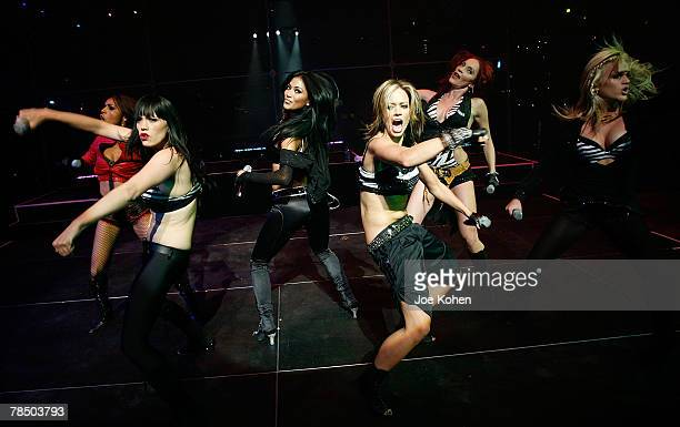 The Pussycat Dolls performs live at the Fiftieth Birthday For Donny Deutsch on December 15 2007 in New York City