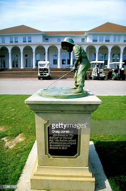 The Putter Boy at the Pinehurst Resort Country Club in North Carolina USA Mandatory Credit Craig Jones /Allsport