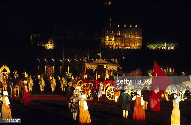"The ""Puy du Fou"" show in Vendee in Le Puy Du Fou, France on June 17, 1989."