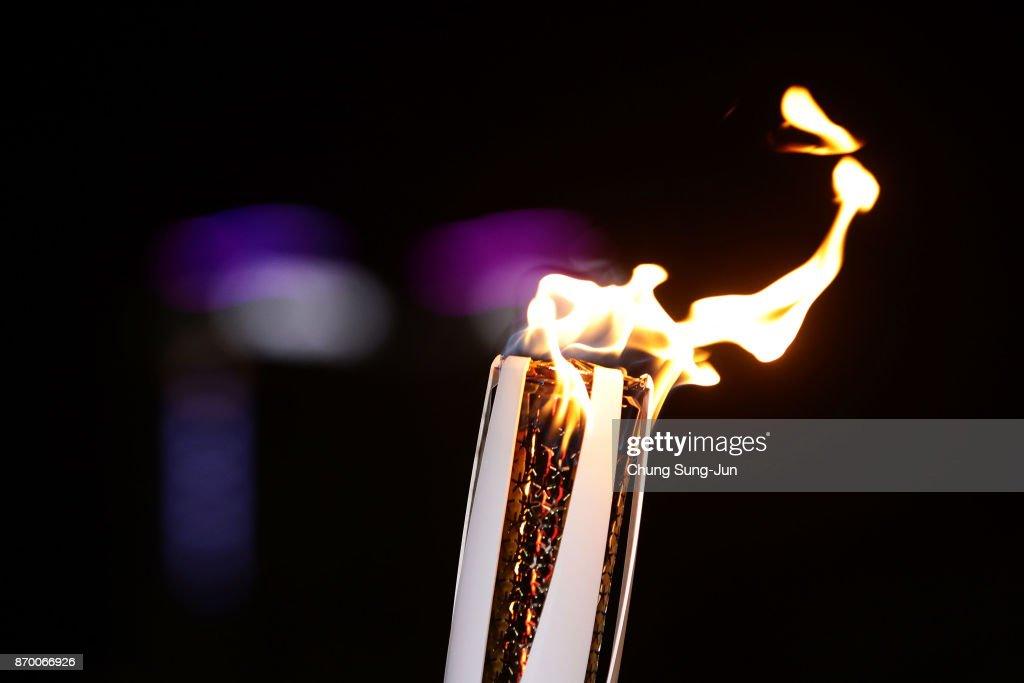 PyeongChang 2018 Torch Relay Continues : ニュース写真