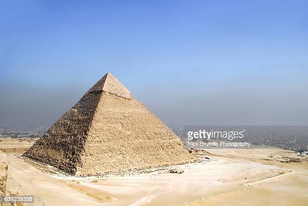 The Pyramid Of Chephren, Giza, Egypt.