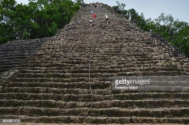 The Pyramid of Coba