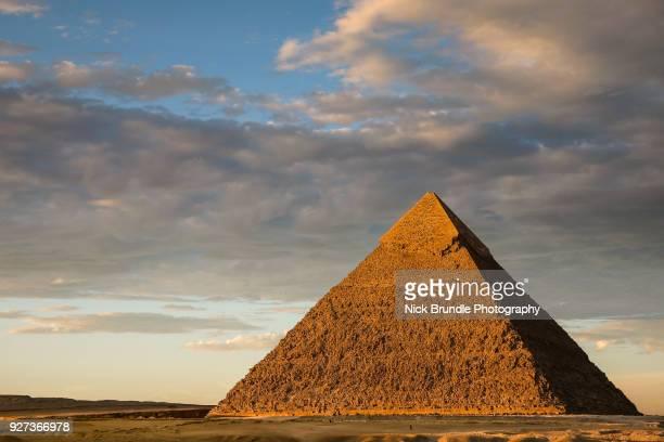 The Pyramid of Khafre, Giza, Cairo, Egypt