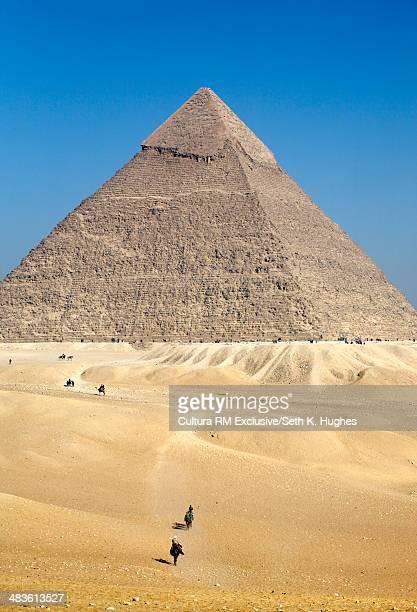 The pyramid of khufu, Giza, Egypt