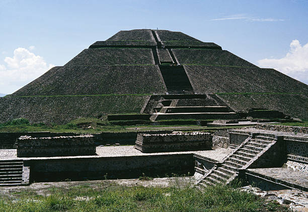 The Pyramid of the Sun at the ancient archaeological...