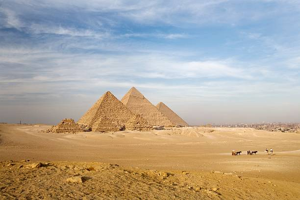 The Pyramids, Giza, Cairo, Egypt Wall Art