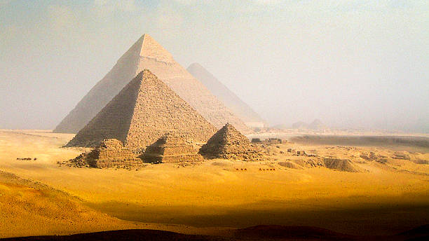 The Pyramids, Giza, Egypt Wall Art