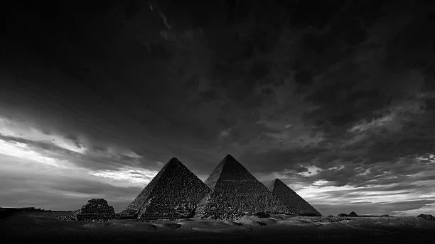 The Pyramids Of Giza, Egypt Wall Art
