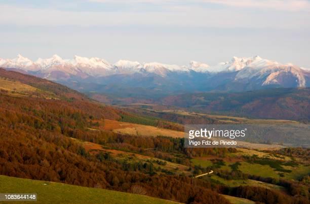 The Pyrenees, Ochagavía, Navarra, Spain.