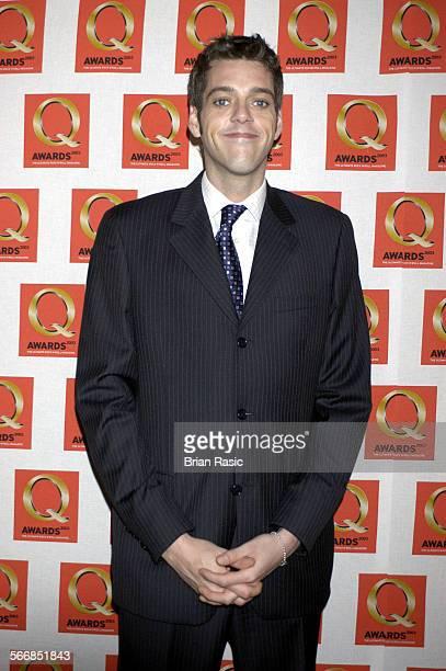 The Q Awards At The Park Lane Hotel London Britain 02 Oct 2003 Iain Lee