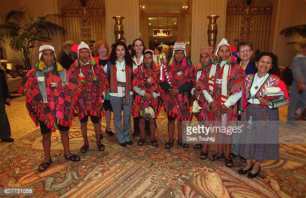 The Q'ero Nation of Peru is one of the purest practitioners of Incan and preIncan pantheism in South America They toured New York while here for the...