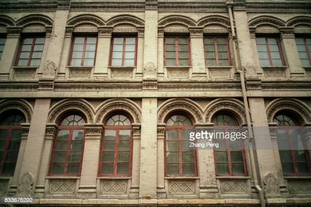 The Qing Dynasty Post Office building located at Tianjin Jiefang North Road built in 1878 the predecessor of the Tianjin Customs Mail office The...