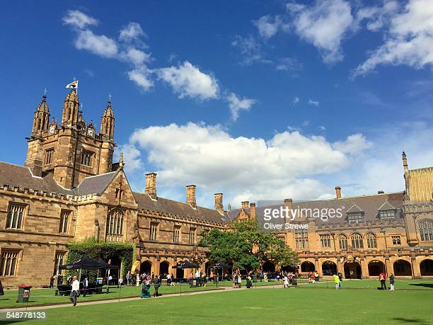 The Quadrangle, The University of Sydney. 9 April 2015