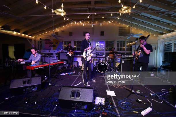 The Qualitons perform onstage at Sounds from Hungary during SXSW at Palm Door on March 16 2018 in Austin Texas