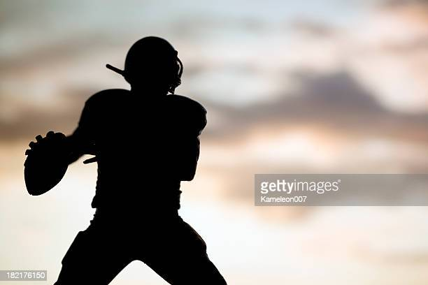 the quarterback - quarterback stock pictures, royalty-free photos & images