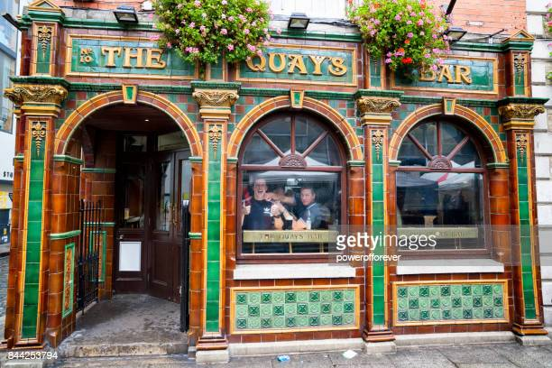The Quays Bar at Temple Bar in Dublin, Ireland