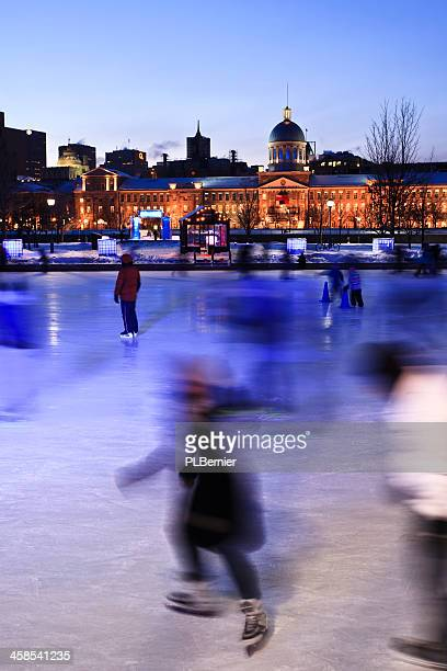 The Quays Skating Rink in Montreal