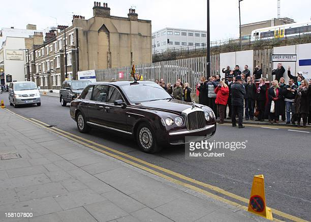The Queen And Duke Of Edinburgh Open The New London Fire Brigade Headquarters In London