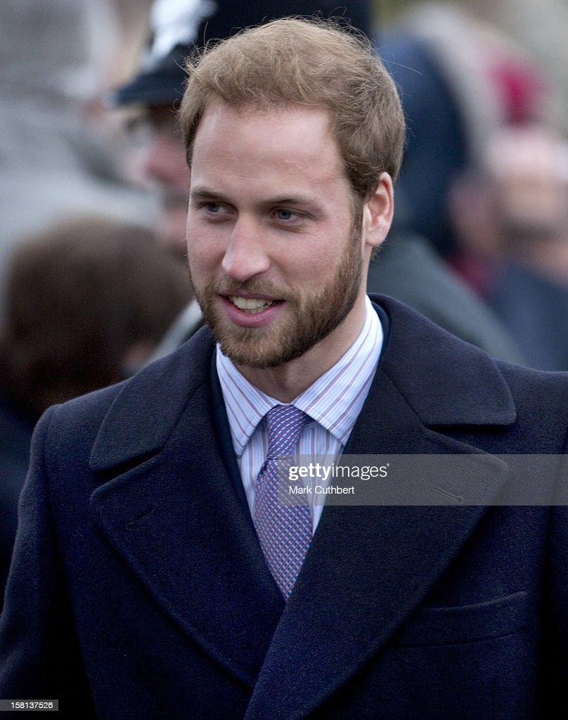 Royals Christmas Service - Sandringham : News Photo