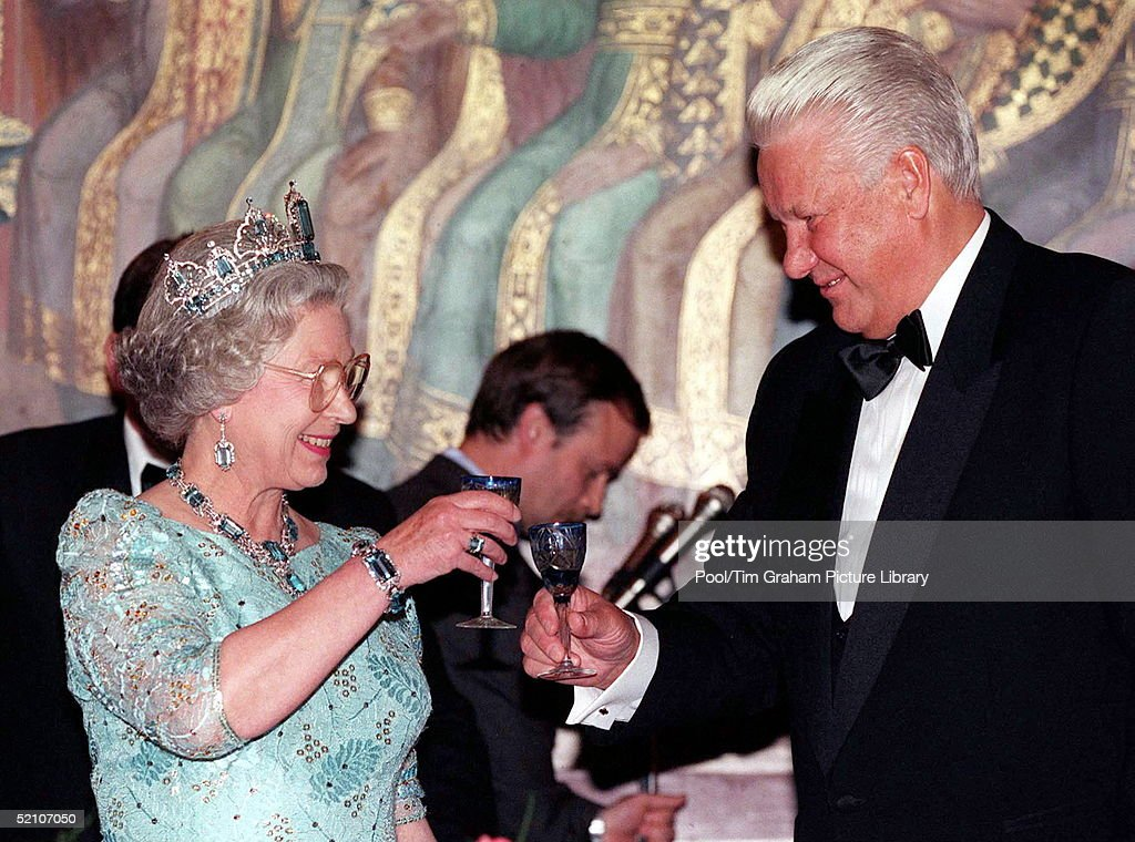 Queen Yeltsin Moscow : News Photo