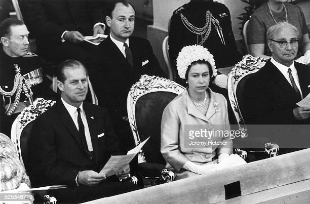 The Queen and Prince Philip at the Spanish Riding School Vienna May 1969