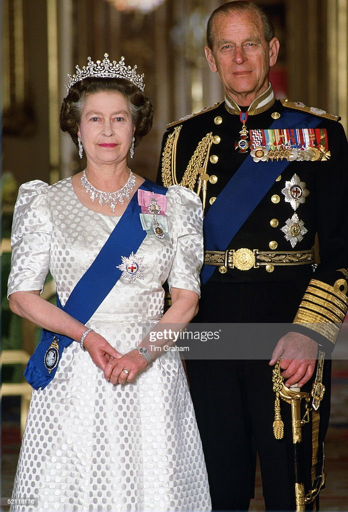 Queen And Philip Windsor Session : News Photo