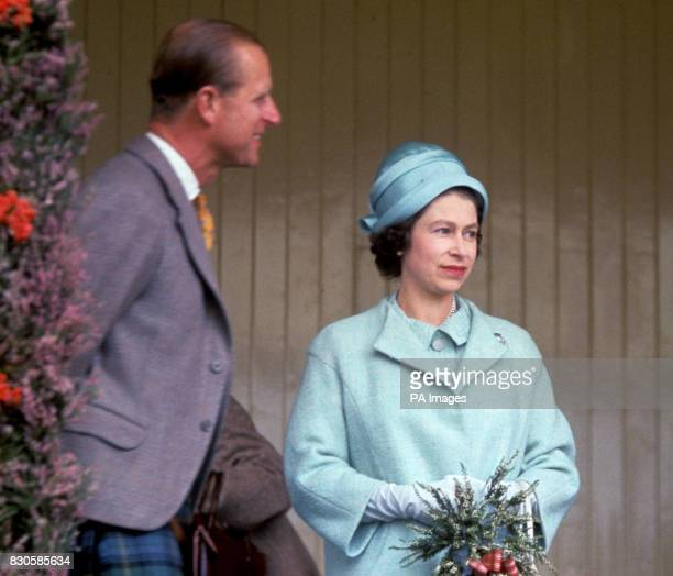 The Queen and the Duke of Edinburgh attend the Braemar Gathering in Scotland