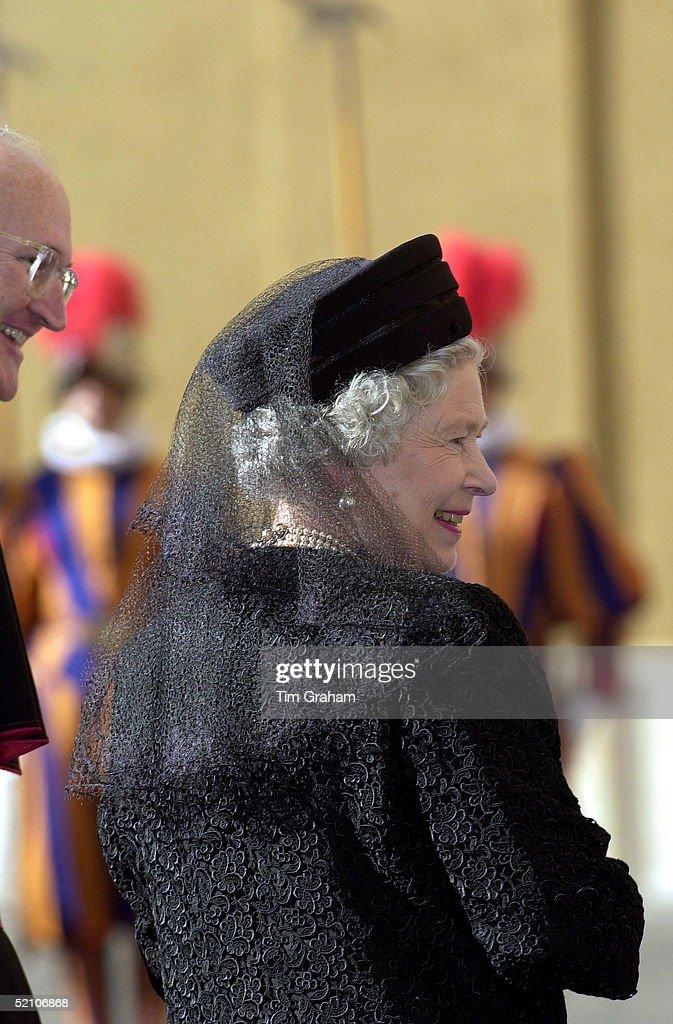 Queen Black At Vatican : News Photo