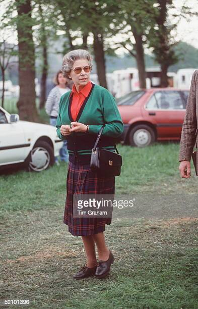 The Queen At The Royal Windor Horse Show