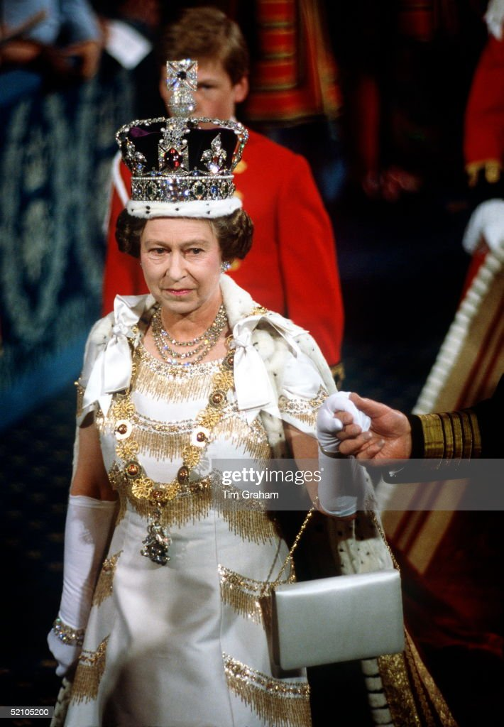 Queen Opening Of Parliament : News Photo