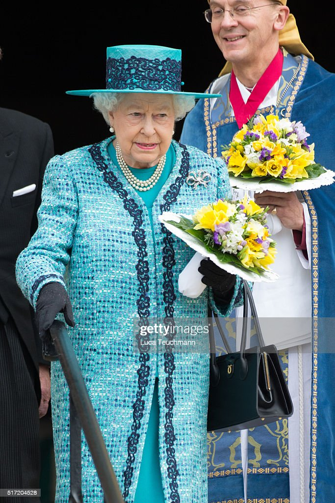 the queen attends the traditional royal maundy service at windsor castle on march 24 2016 - Traditional Castle 2016