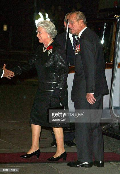 The Queen Duke Of Edinburgh Attend A Royal British Legion Festival Of Remembrance Performance At London Royal Albert Hall