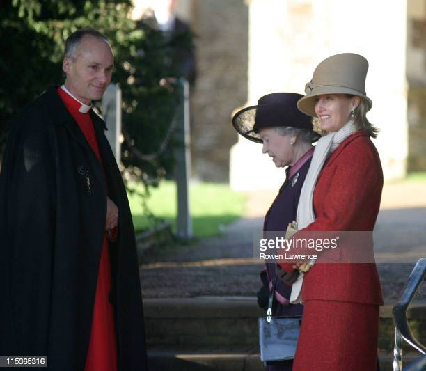 HM The Queen Elizabeth II and Countess Sophie Wessex