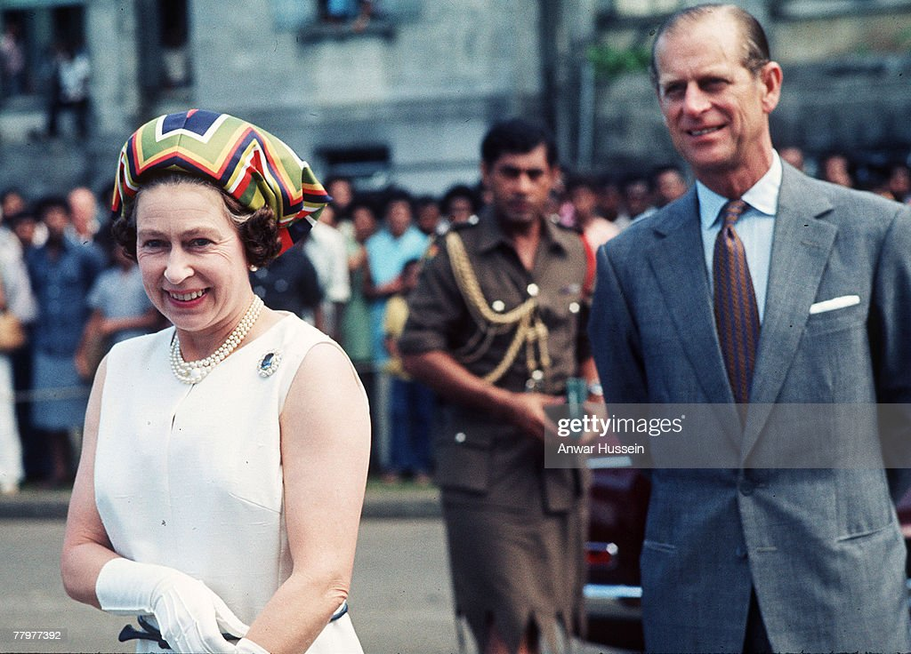 HM The Queen Elizabeth II and The Duke of Edinburgh in Fiji - 1977