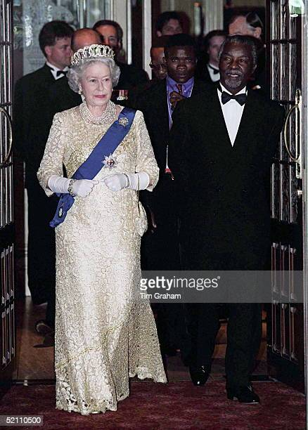 The Queen Hosts A Banquet For The Heads Of Government At The Royal Hotel Durban South Africa