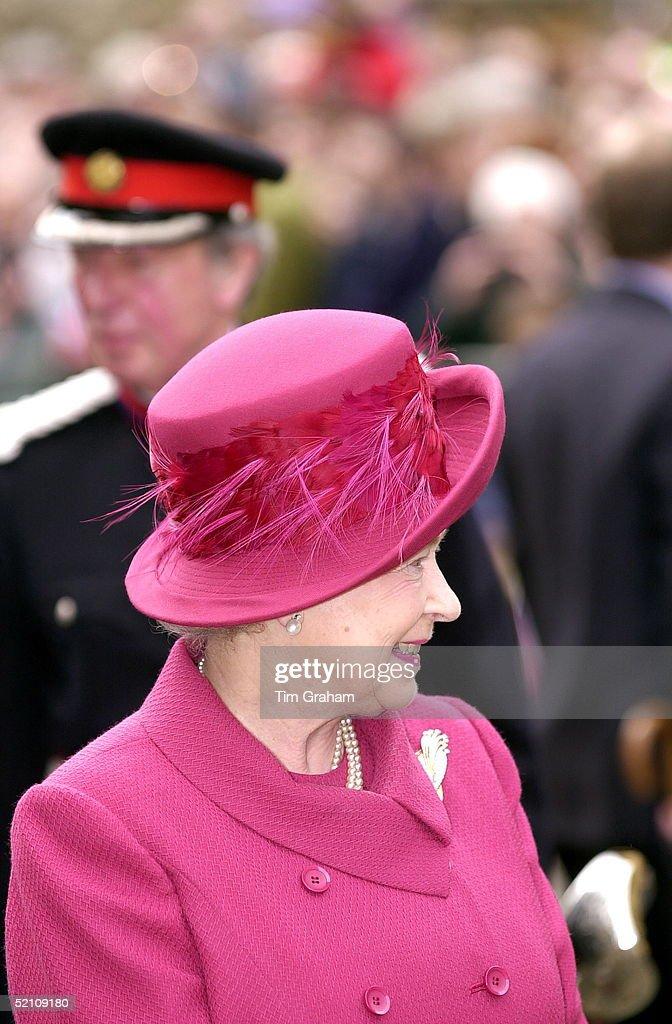 Queen Hat Detail : News Photo