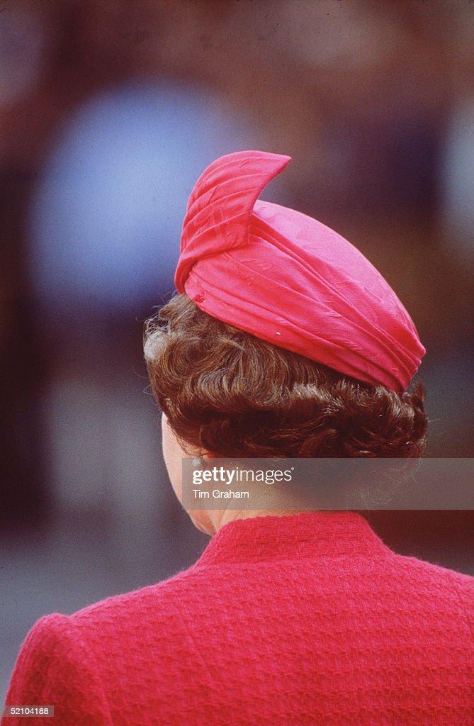 Queen Spain Backview : News Photo