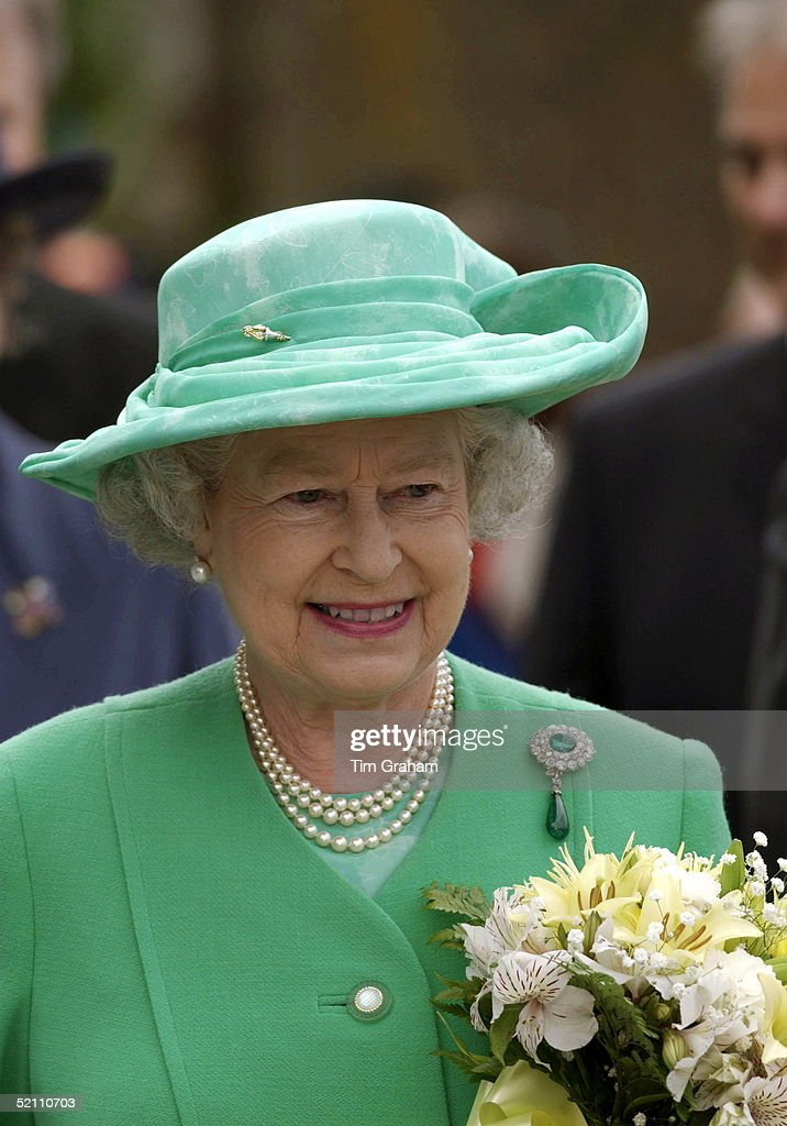 Queen Thoughtful Portrait : News Photo