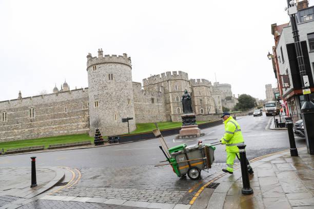 GBR: Queen Elizabeth II Leaves Buckingham Palace For Windsor Castle Amid Coronavirus Outbreak