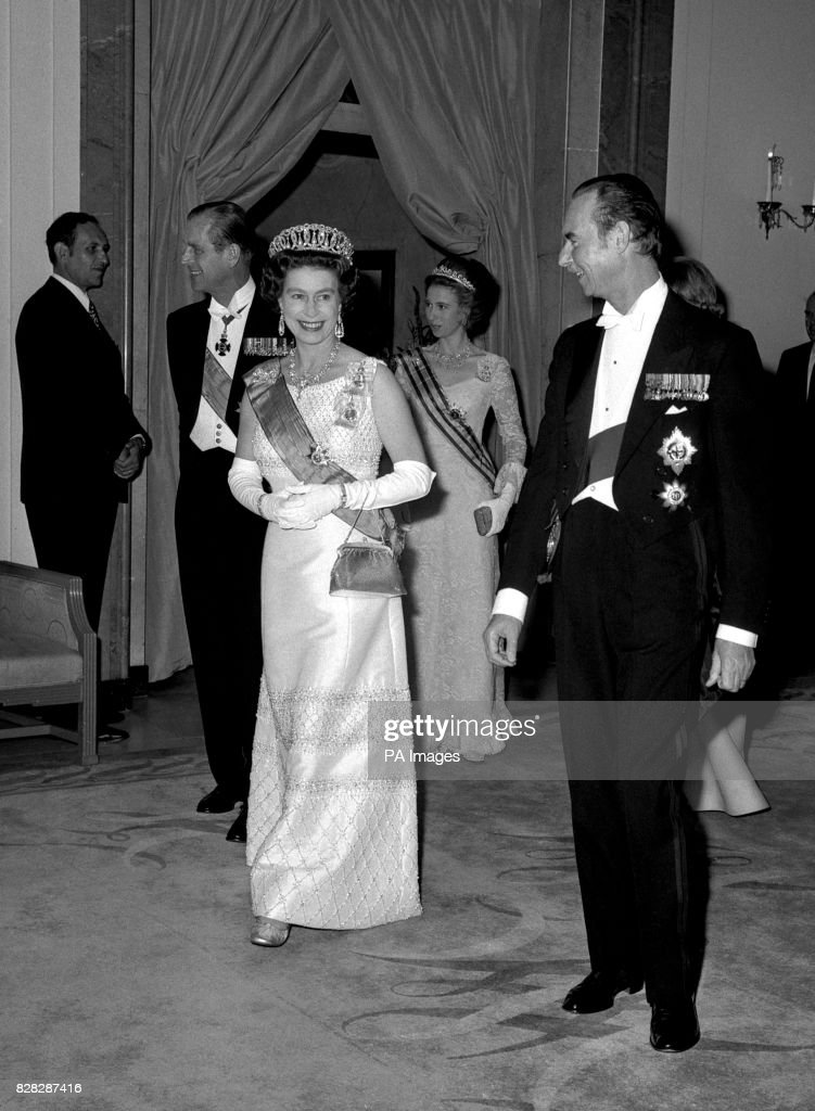 Royalty - Queen and Grand Duke of Luxembourg - Claridge's : News Photo