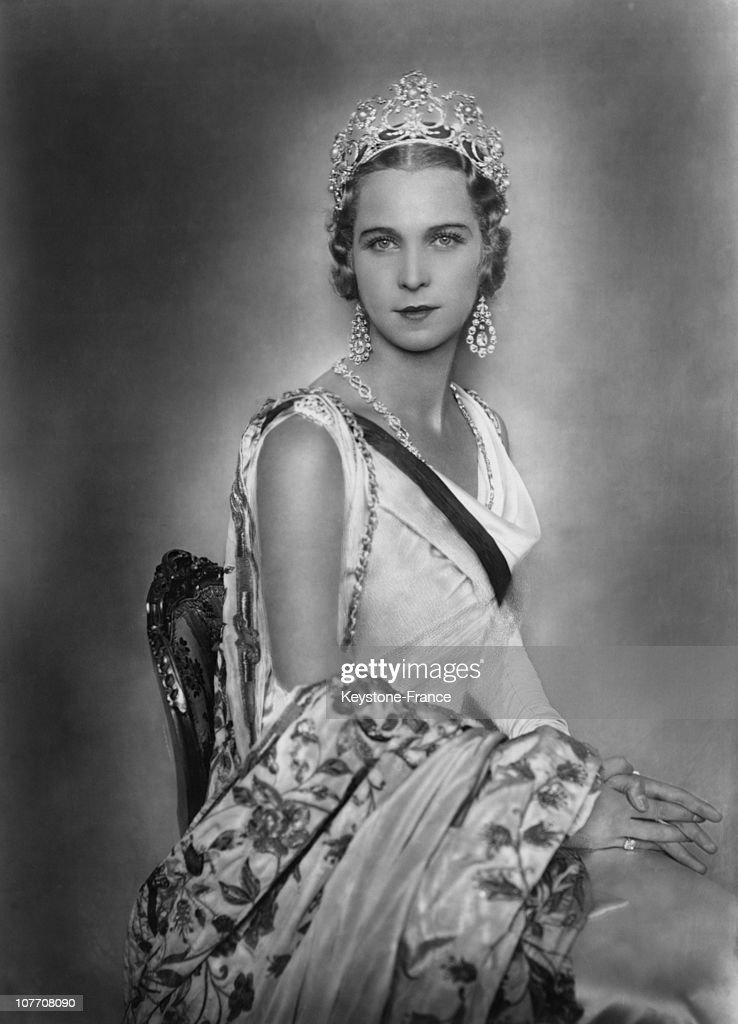 The Queen Marie Josee Italy, Daughter Of Belgian King Albert And Princess Elizabeth.
