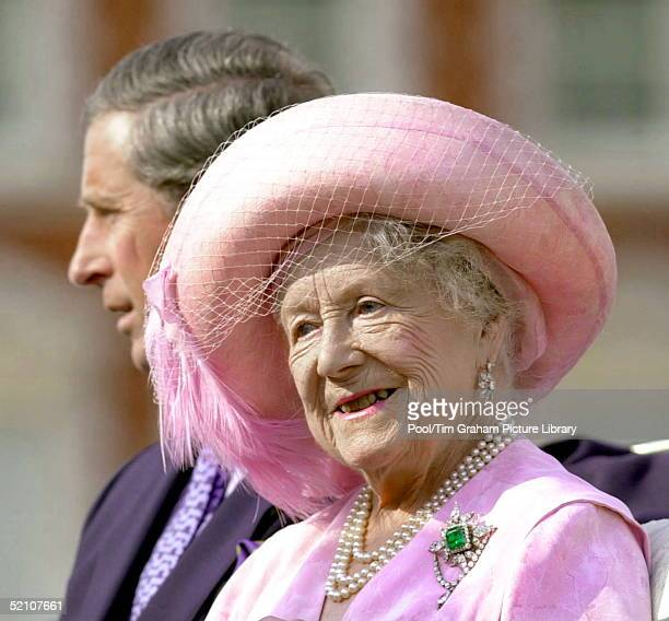 The Queen Mother Arriving At Horse Guards Parade For A Special Pageant To Celebrate Her 100th Birthday