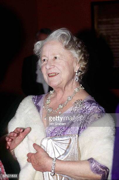 The Queen Mother Attending A Recital At The Royal College Of Music