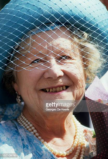 The Queen Mother celebrates her 87th birthday in London on August 4 1987