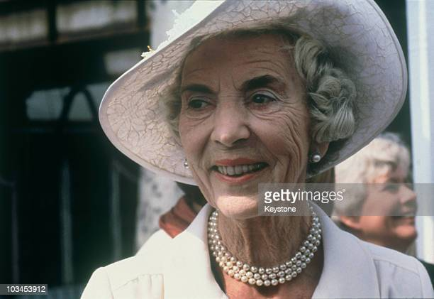 The Queen Mother Ingrid of Denmark circa 1980
